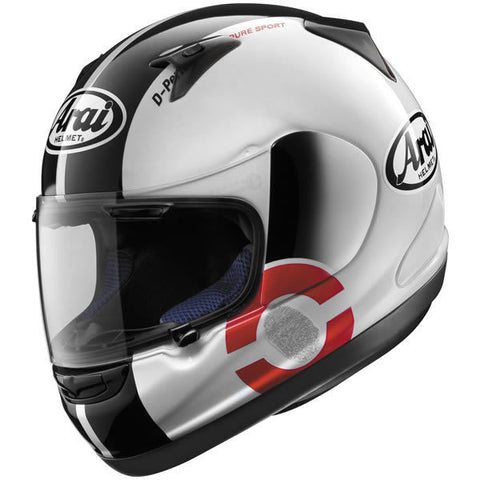 Arai RX-Q DNA White Helmet