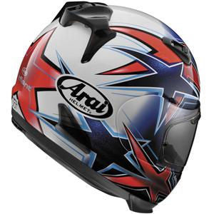 Arai Defiant Asteroid Helmet - Red/Blue
