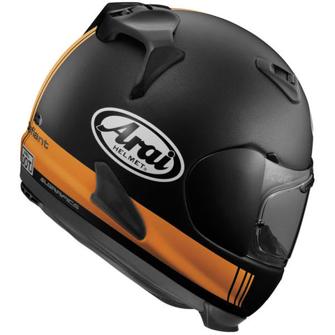 Arai Defiant Base Helmet - Black/Orange