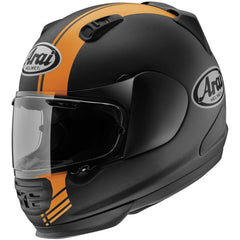 Arai Defiant Base Helmet - Black/Orange - HelmetOnline  - 1