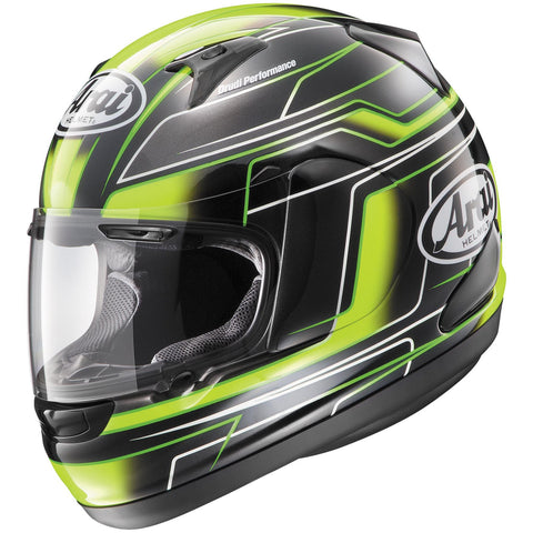 Arai RX-Q Electric Green Helmet