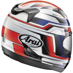 Arai RX-Q Electric White/Red Helmet - HelmetOnline  - 2