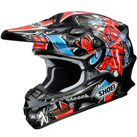 Shoei VFX-W Barcia Helmet - Black/Red