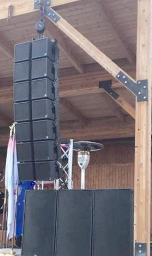 Veterans Benefit uses TRx3210A line array