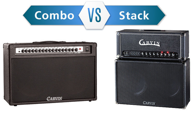 guitar amplifiers combos vs stacks. Black Bedroom Furniture Sets. Home Design Ideas