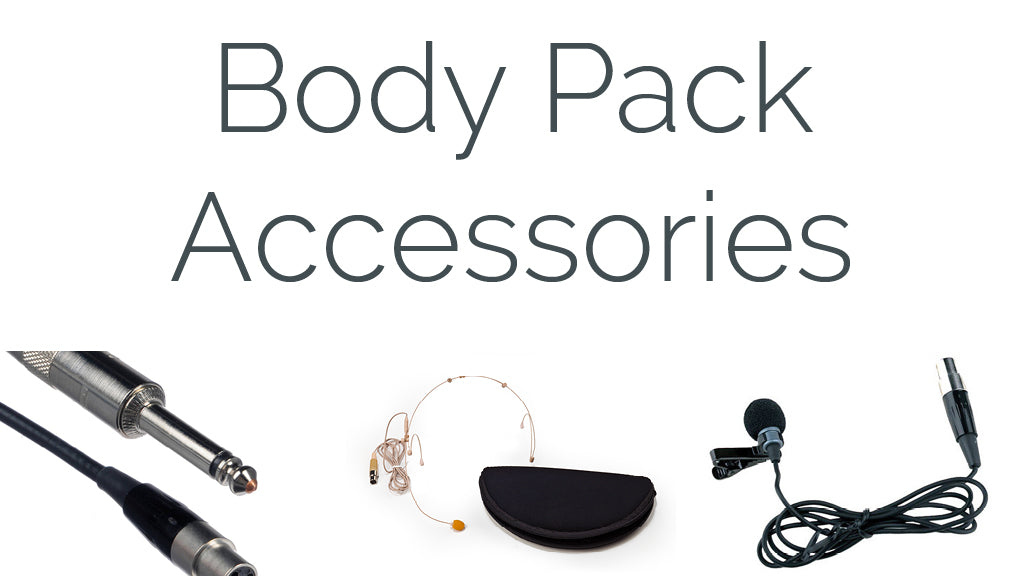 Body Pack Accessories