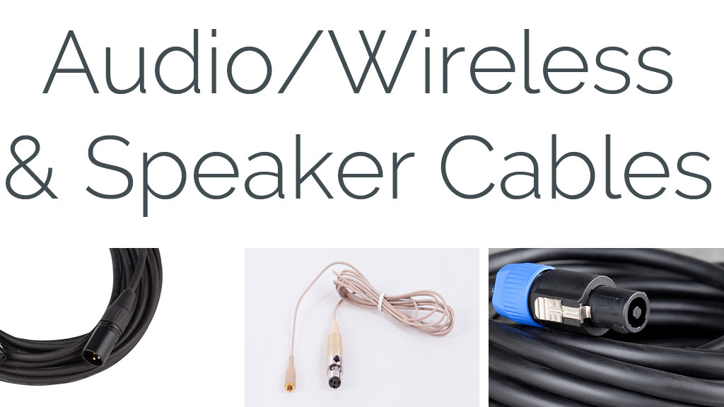 carvin audio , wireless and speaker cables