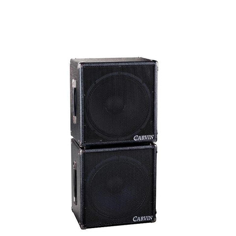 115MBE single 15-inch stack for BX250 250 bass amp