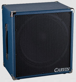 115MBE Micro Bass Extension Cabinet Blue