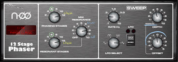 12 Stage Phaser - I Live QU FX & Processing from Allen&Heath for the QU Series Digital Mixing Consoles