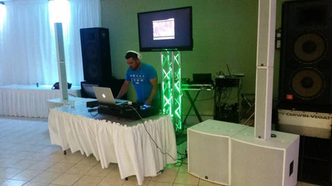 DJ Association Event with White TRC System