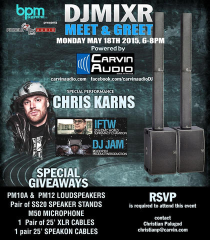 Carvin Audio DJ Meet and Greet