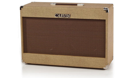 Carvin 212E 2 x 12 200W Vintage Open Back Cabinet