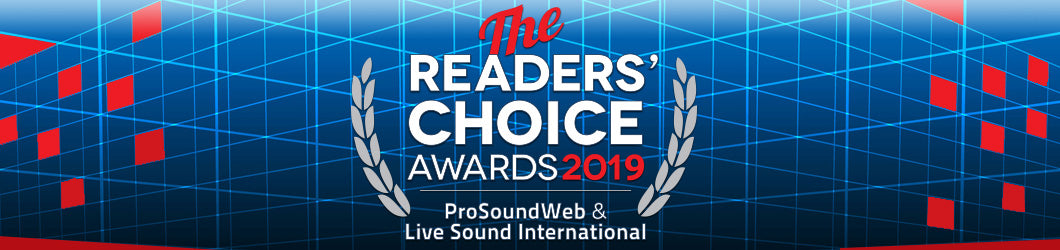 ProSoundWeb & Live Sound International's 2019 Readers' Choice Awards