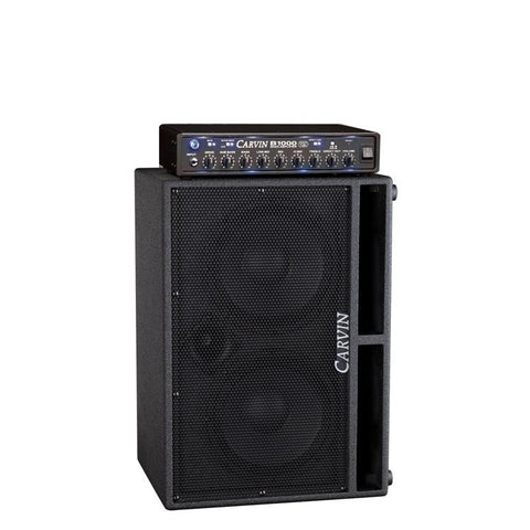 B1000 with BRx10.2 600 watt single cabinet 2x 10-inch rig