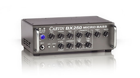 Carvin BX250 bass amplifier