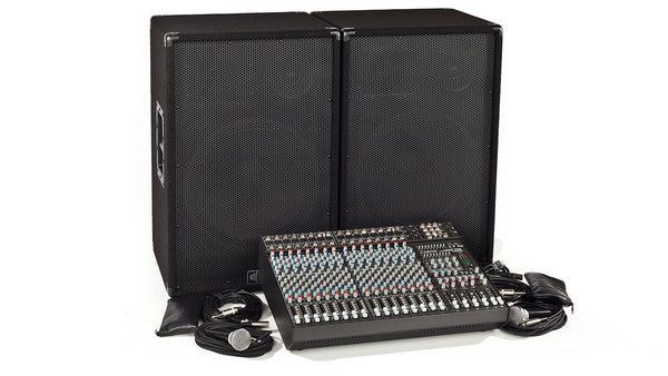 Carvin Audio C1648P-1503 Complete PA System