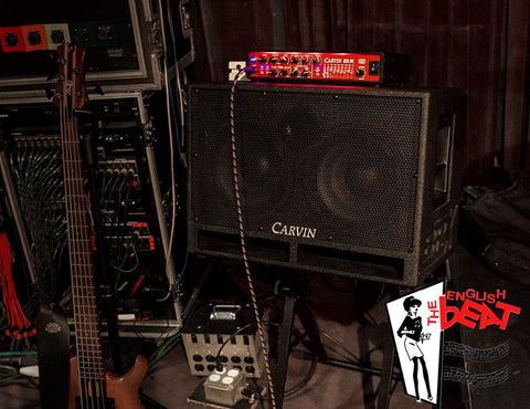 English Beat Bass Rig with BX700 Bass Amp Head and BRx10.2 Cab
