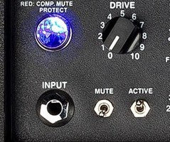MB input section with Drive, Mute, and Active controls