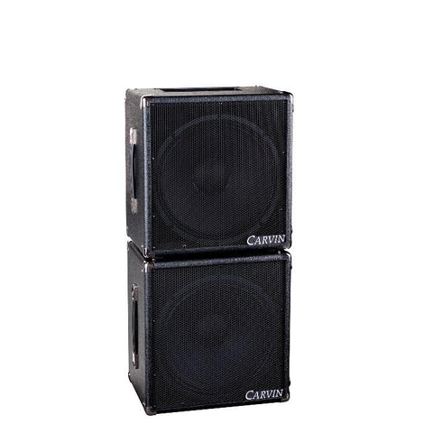 MB15 stacked on 115MBE  250 watt bass rig