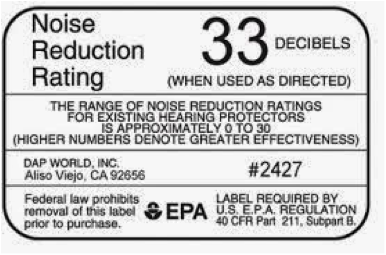 Noise Reduction Ratings