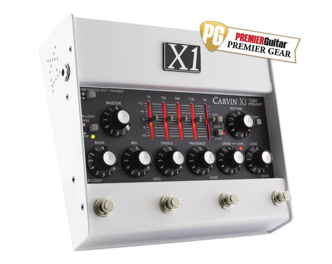 X1 Preamp Pedal Wins Premier Gear Award