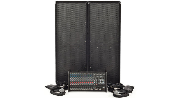 Carvin Audio RX1200L-2153 Powered Sound System package