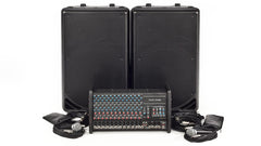Carvin Audio RX1200L Series Powered Sound System Package