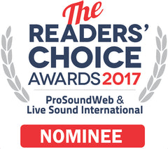 ProSoundWeb & Live Sound International Reader's Choice Awards