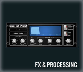 fx&processing for qu series mixing consoles