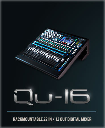 qu16 digital mixer by allen&heath