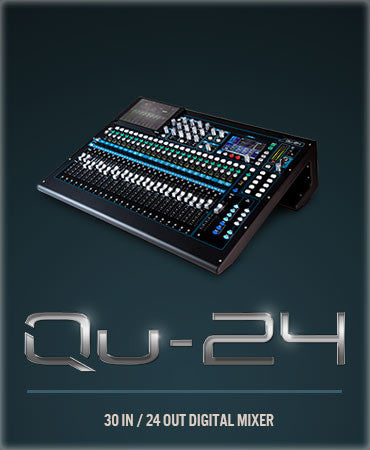 qu24 digital mixer by allen&heath
