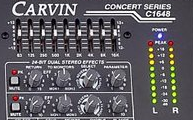 Carvin Audio C1648P Volume Indicator