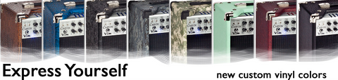 Amps with Visual Expression