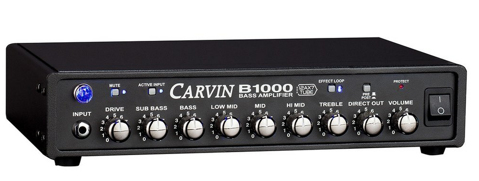 B1000 Bass Amp with Sub Bass Control