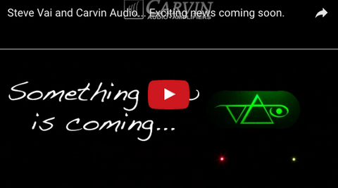Steve Vai Announces: Something New Is Coming...