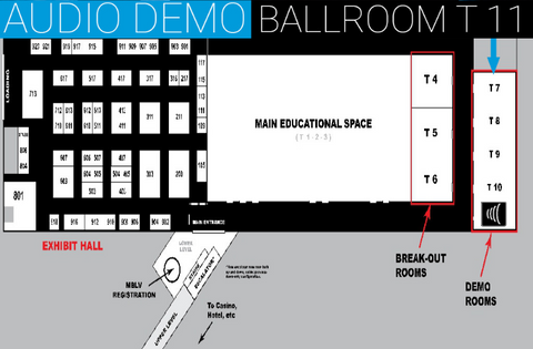 Audio Demo in Ballroom T11