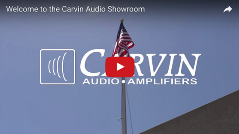 Carvin Audio Showroom Video Tour