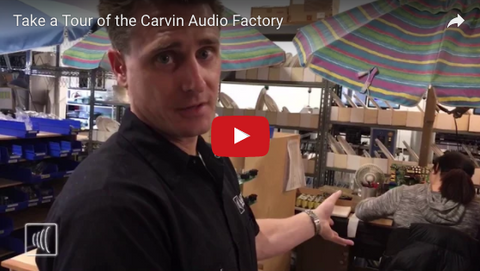 Carvin Audio Factory Tour