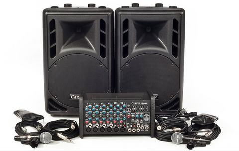 the perfect small portable PA system