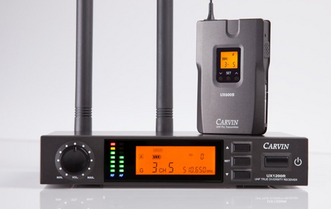 Carvin Audio's UX1200B wireless system