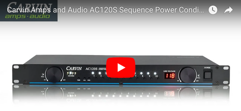 AC120S Power Conditioner/Sequencer Video