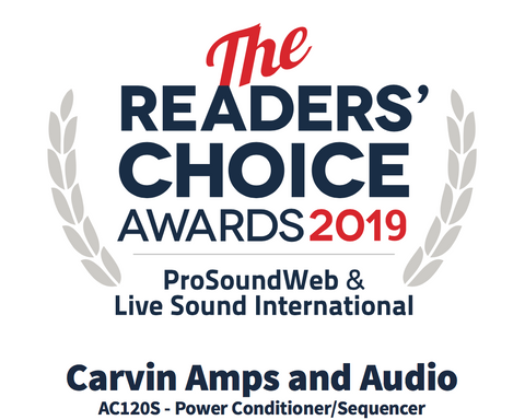 The AC120S Power Conditioner Wins the 2019 Readers' Choice Award