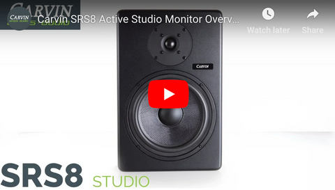 SRS8 Studio Reference Monitor Demo Video