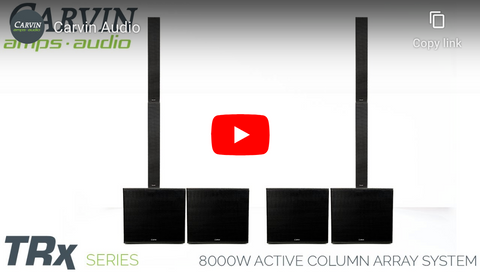 TRC Column Array System Demo Video