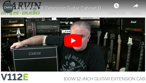 The Tone King Demos the V112E Guitar Extension Cabinet