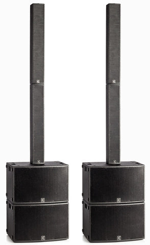 TRC610 dual 10-inch subwoofer column arrary