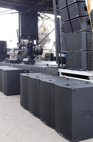 TRx3218 subwoofer array system
