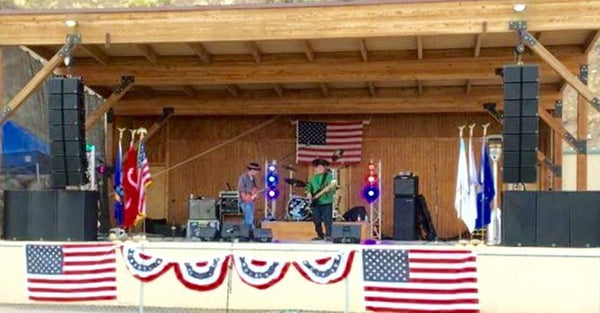 Stoney Ridge Pavilion Using Carvin Audio twelve TRx3210A