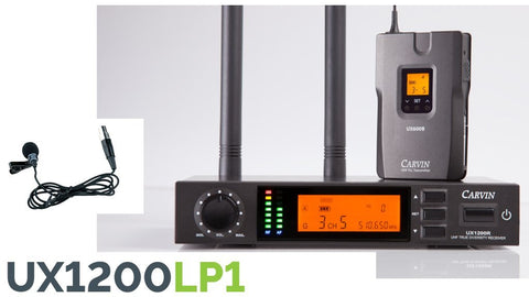 UX1200LP1 Wireless Lapel System
